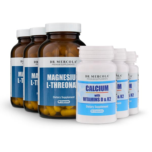 Calcium Magnesium Bundle 90 Day Supply