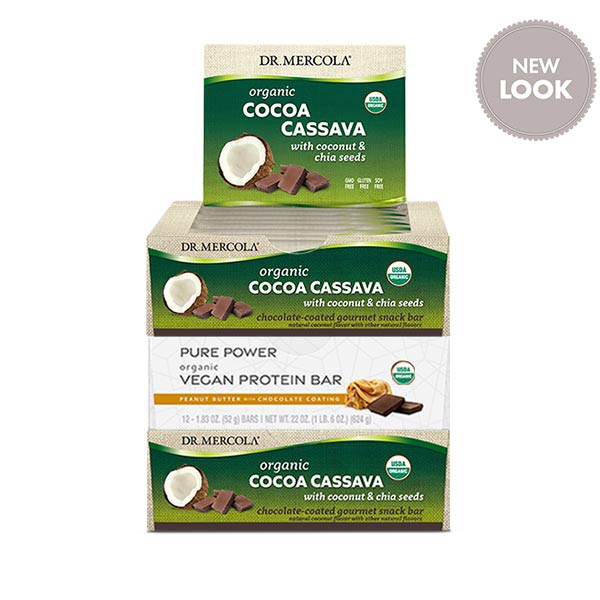 Cassava and Pure Power Peanut Butter Protein Bars