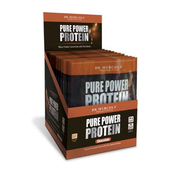 Pure Power Protein Single Serve Box - Chocolate (14 per box): 1 Box