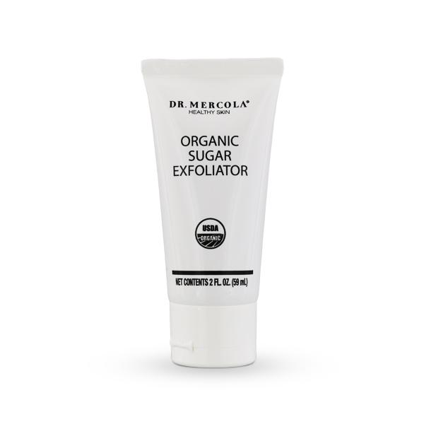 Usda Certified Organic Sugar Exfoliator Face Scrub