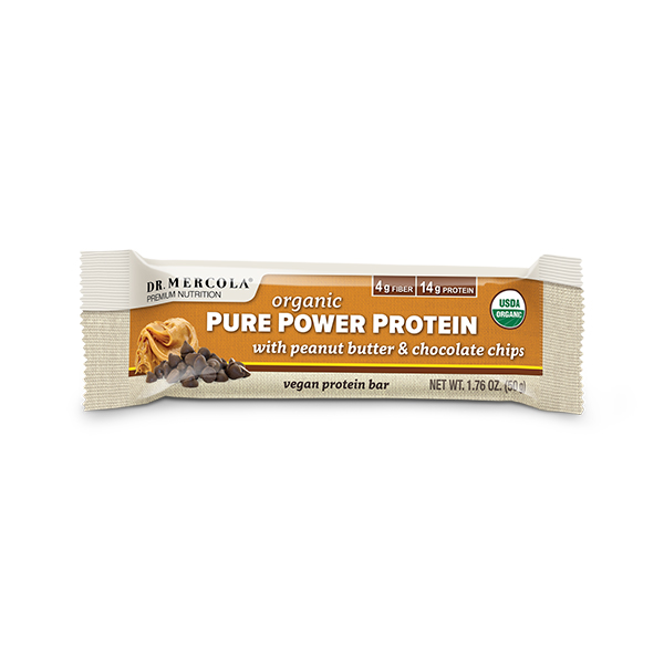 Pure Power Peanut Butter Protein Bar: 1 Bar