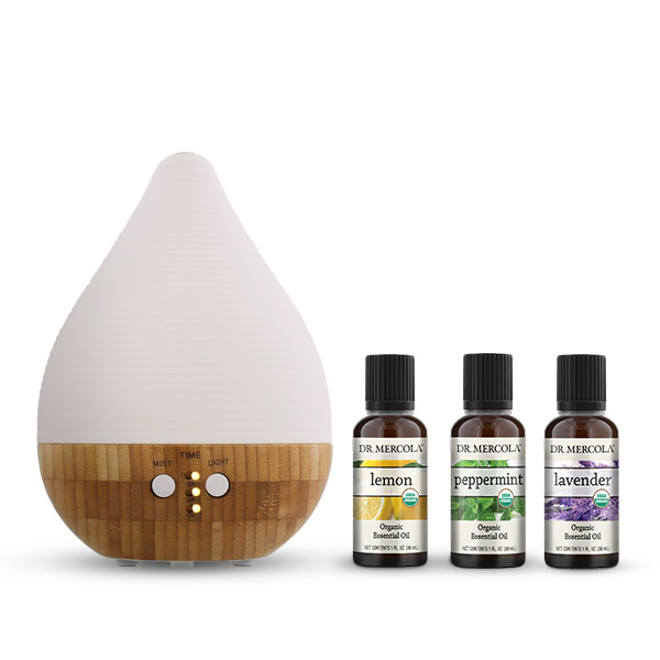 Kit Iniciador para Aromaterapia 120V