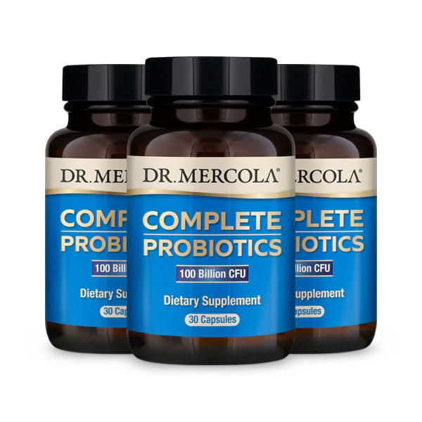 Complete Probiotics 100 Billion CFU 3-Pack