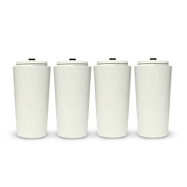 Shower Filter Replacement Cartridge (SFR2000): 4-Pack