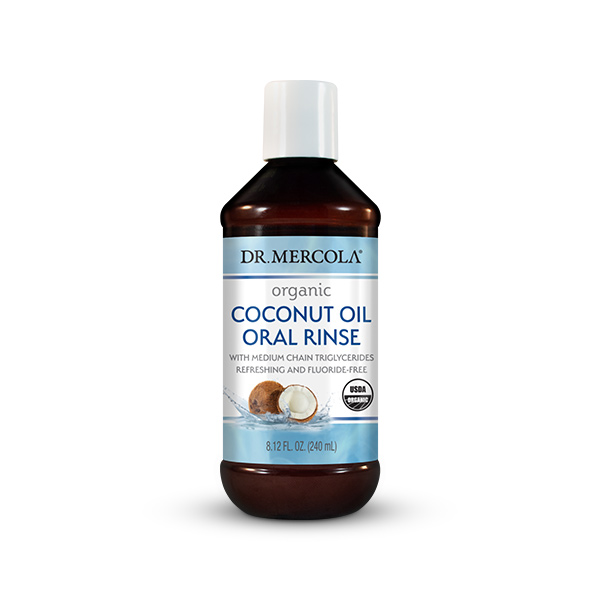 Certified Organic Coconut Oil Oral Rinse