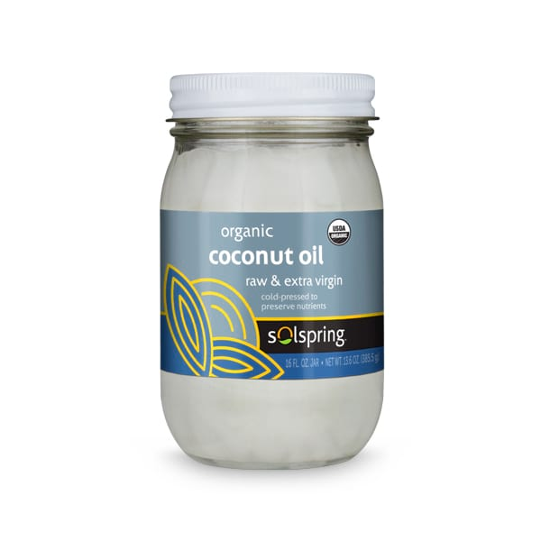 Organic Extra Virgin Coconut Oil (16 fl oz jar)