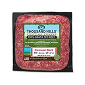 100% Grass Fed Ground Beef (1 lb. Per Unit): 16 Units