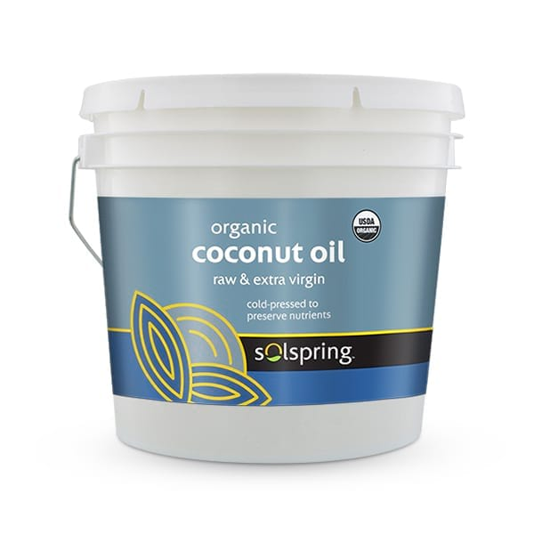 Solspring™ Organic Coconut Oil (1 gal. per Container): 1 Container