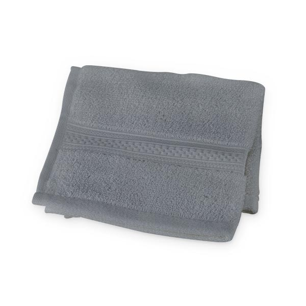 Organic Cotton Wash Cloth (Grey)