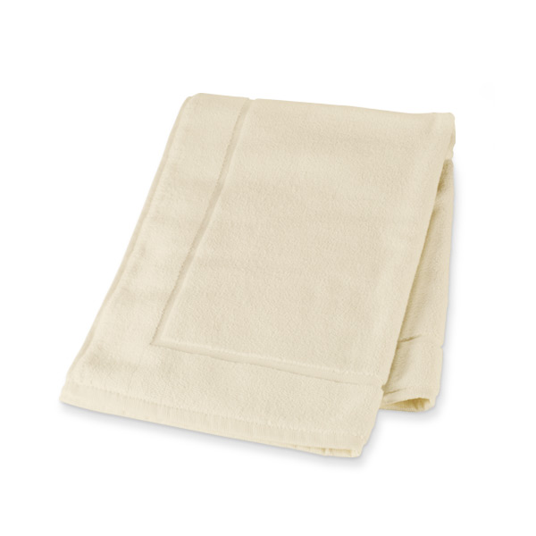 Organic Cotton Bath Mat (Off-White)