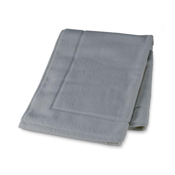 Organic Cotton Bath Mat (Gray)