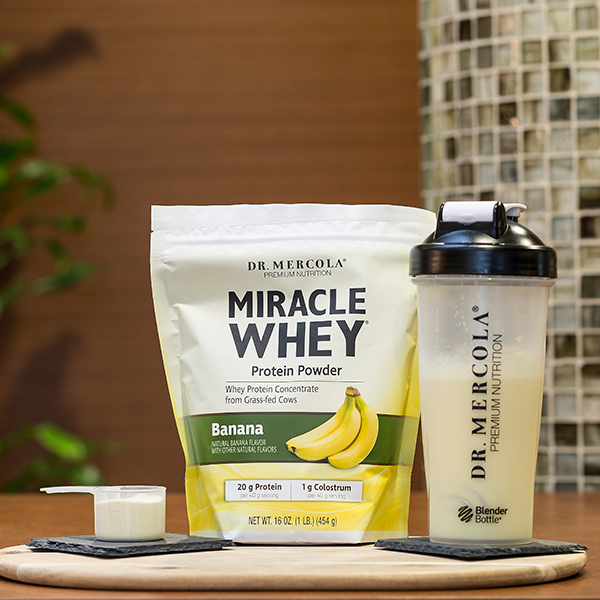 Miracle Whey Banana (11 Servings): 1 Bag