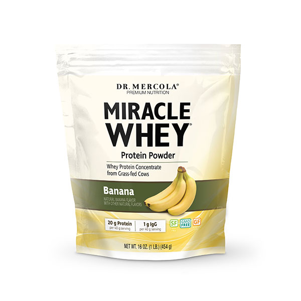 Miracle Whey® Banana (11 Servings): 1 Bag