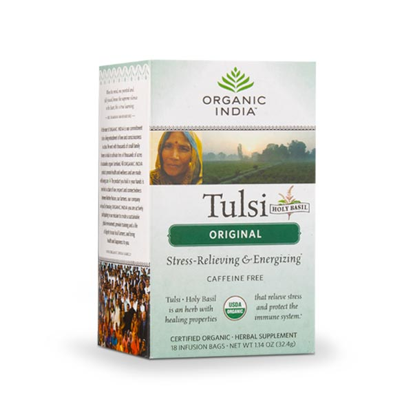 Tulsi Original Tea (18 bags per box): 1 box