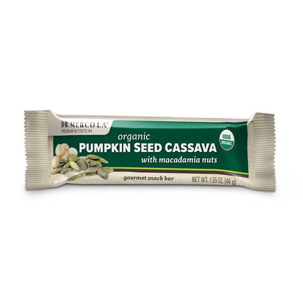 Pumpkin Seed Cassava with Macadamia Nuts (12 bars per box): 1 box