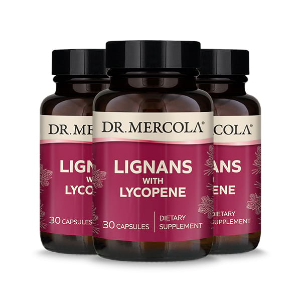 Lignans with Lycopene 3-Pack