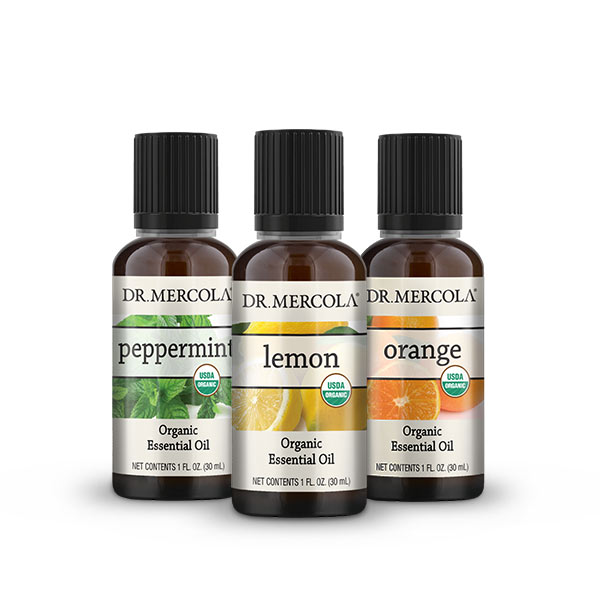 Uplifting Essential Oils Gift Set