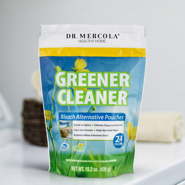 Greener Cleaner Bleach Alternative Pouches