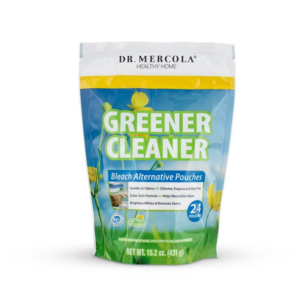 Greener Cleaner Bleach Pouches