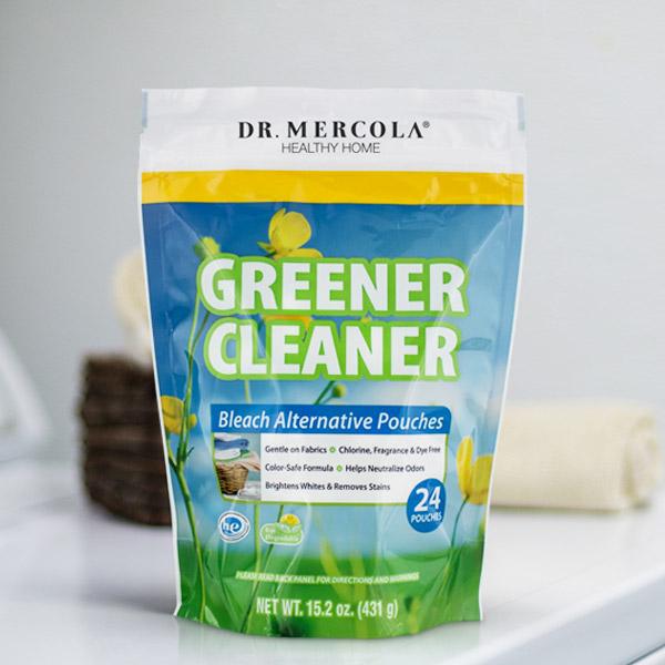 Greener Cleaner Bleach Alternative Pouches