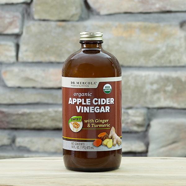 Vinagre de Sidra de Manzana Orgánico Dulce