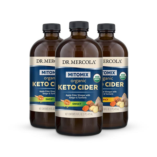 MITOMIX™ KETO CIDER™ & Cider Vinegar – Create Your Own 3-Pack