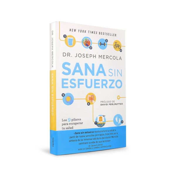 Effortless Healing by Dr. Mercola (Spanish Copy)  - Sana Sin Esfuerzo