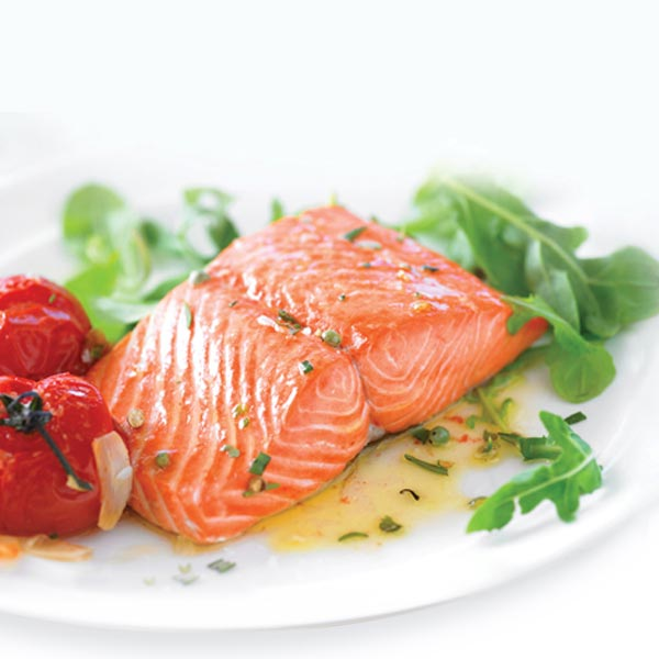 Wild Alaskan Sockeye Salmon without Skin (6 oz. per Portion): 12 Portions