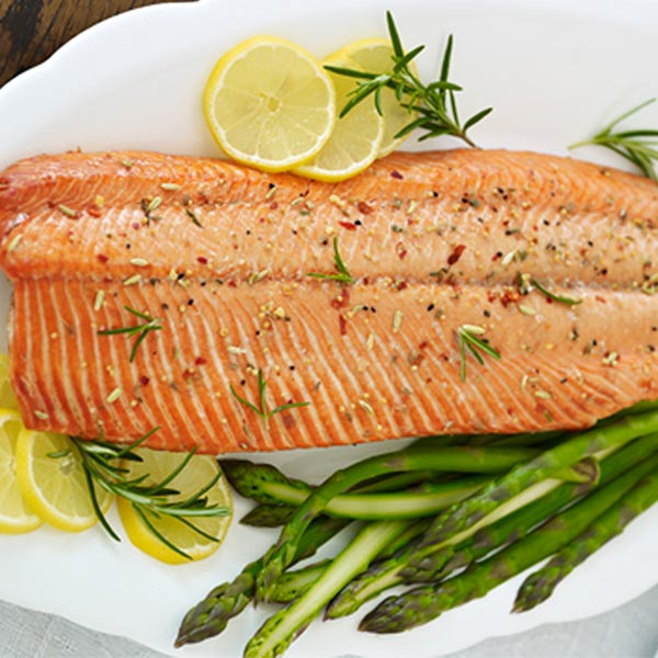 Alaskan Sockeye Salmon Whole Fillets (24 oz. per Fillet): 6 Fillets