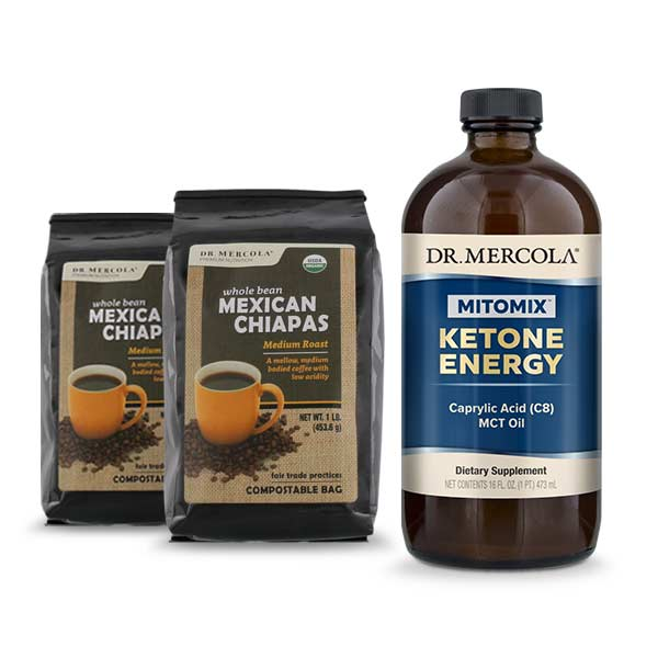 MITOMIX™ KETO Coffee Energy Pack - Mexican Chiapas