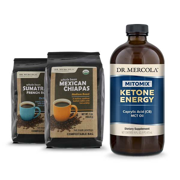 MITOMIX™ KETO Coffee Energy Pack - Combo