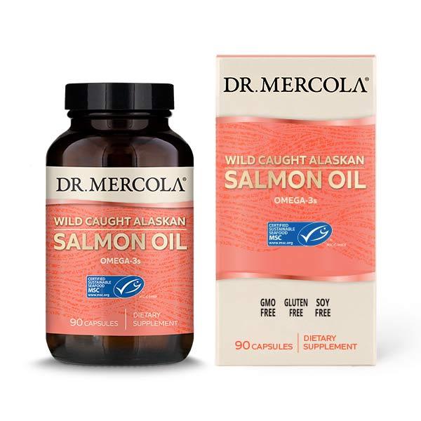 Salmon Oil (90 per bottle): 30 Day Supply