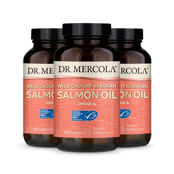 Salmon Oil 3 pack