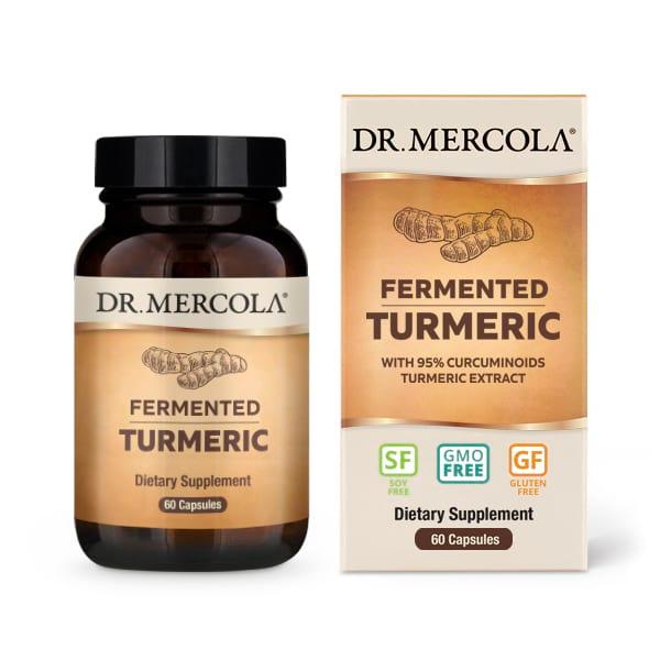 Organic Fermented Turmeric (60 per bottle): 30 Day Supply