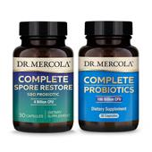 Complete Gut Restore Pack (with 100B CFU Complete Probiotics): 30 Day Supply