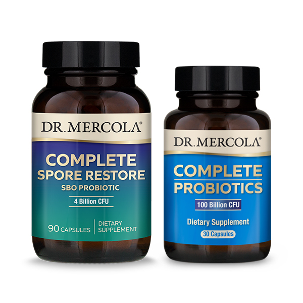 Complete Gut Restore Pack (with 100B CFU Complete Probiotics): 90 Day Supply