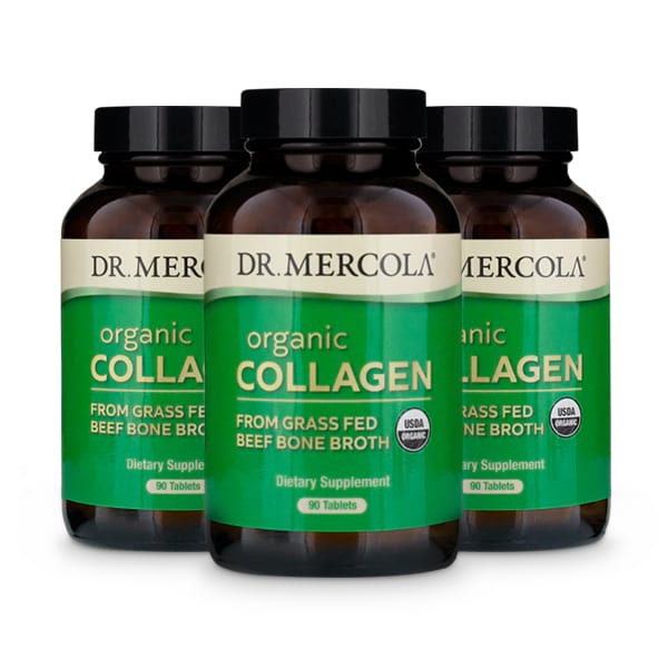 Collagen from Grass Fed Beef Bone Broth 3 bottles