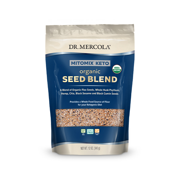 Organic Mitomix Seed Blend (12 oz): 1 Bag (34 Servings)