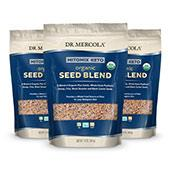 Organic Mitomix Seed Blend (12 oz): 3 Bags