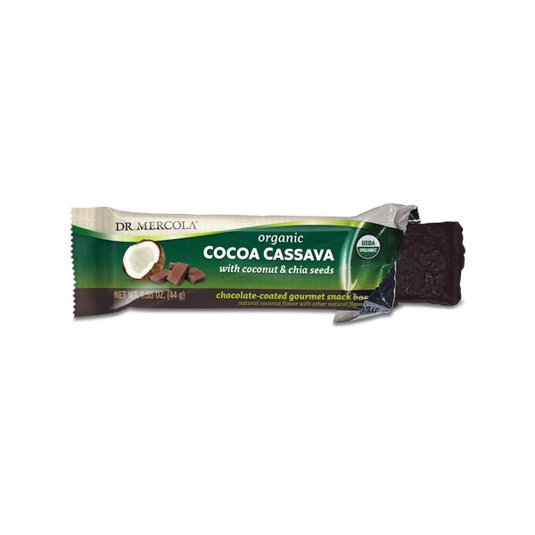 Cocoa Cassava (12 bars per box): 1 box