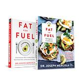 Fat for Fuel by Dr. Mercola & Fat For Fuel Ketogenic Cookbook by Dr. Mercola and Pete Evans