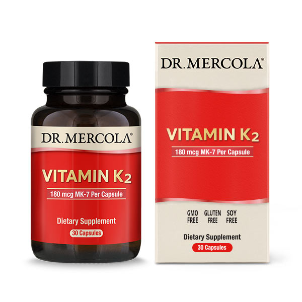 Vitamin K2 capsules (30 per bottle): 1 bottle