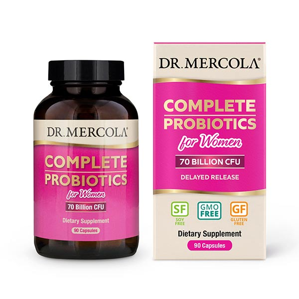 Complete Probiotics for Women (90 per bottle): 90 Day Supply