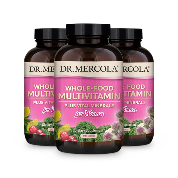 Whole-Food Multivitamin for Women 90-Day Supply