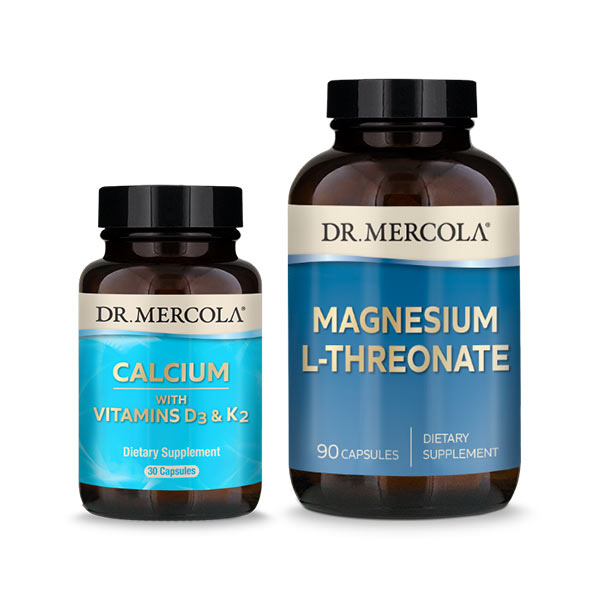 Calcium & Magnesium L-Threonate: 30 Day Supply