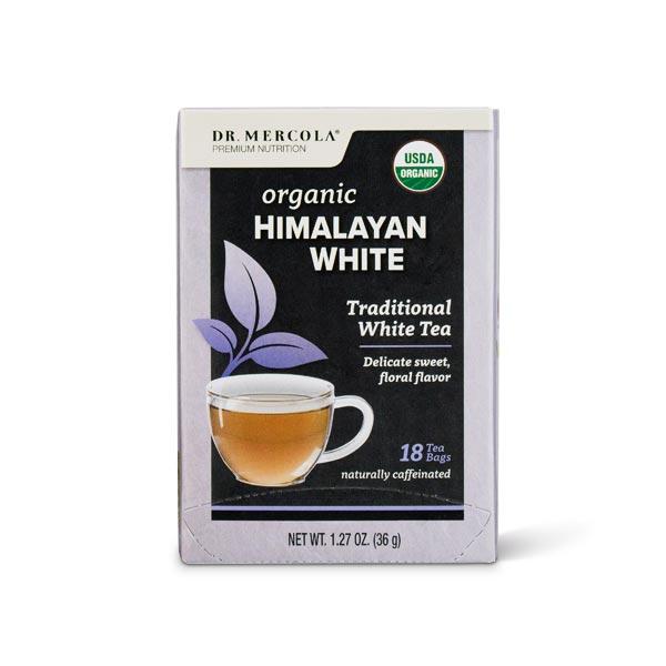 Organic Himalayan White Tea (18 Bags per Box): 1 Box