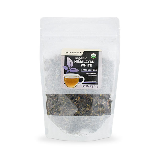 Organic Himalayan White Loose Leaf Tea