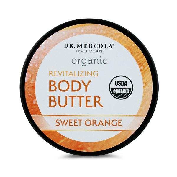 Organic Body Butter Revitalizing Sweet Orange