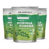 Organic Biodynamic® Moringa Powder (8.46 oz.): 3 Jars