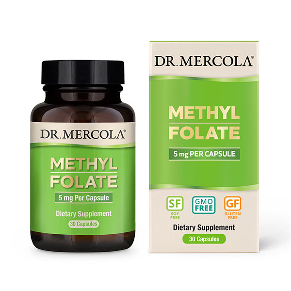 Methyl Folate (30 per bottle): 30 Day Supply